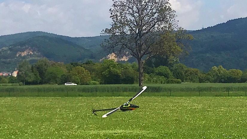 Mikado @ Vatertags-Helitreffen MFC Heidelberg