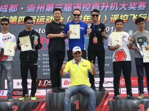 A podium of Champions!
